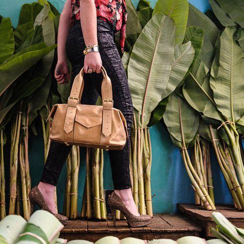 Gold Shoulder Handbag. Fairtrade. Buy at: www.bettyandbetts.com