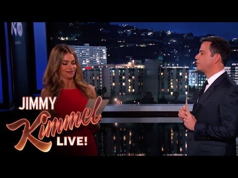 Sofia Vergara and Jimmy Kimmel Read Mean Internet Comments - YouTube