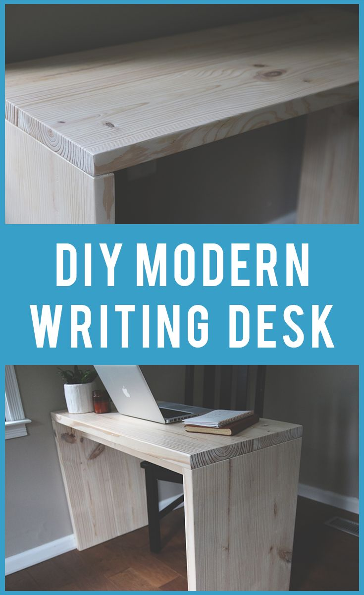 Modern Writing Desk Made By Mitch Diy Furniture Cheap Writing Desk Diy Writing Desk Modern