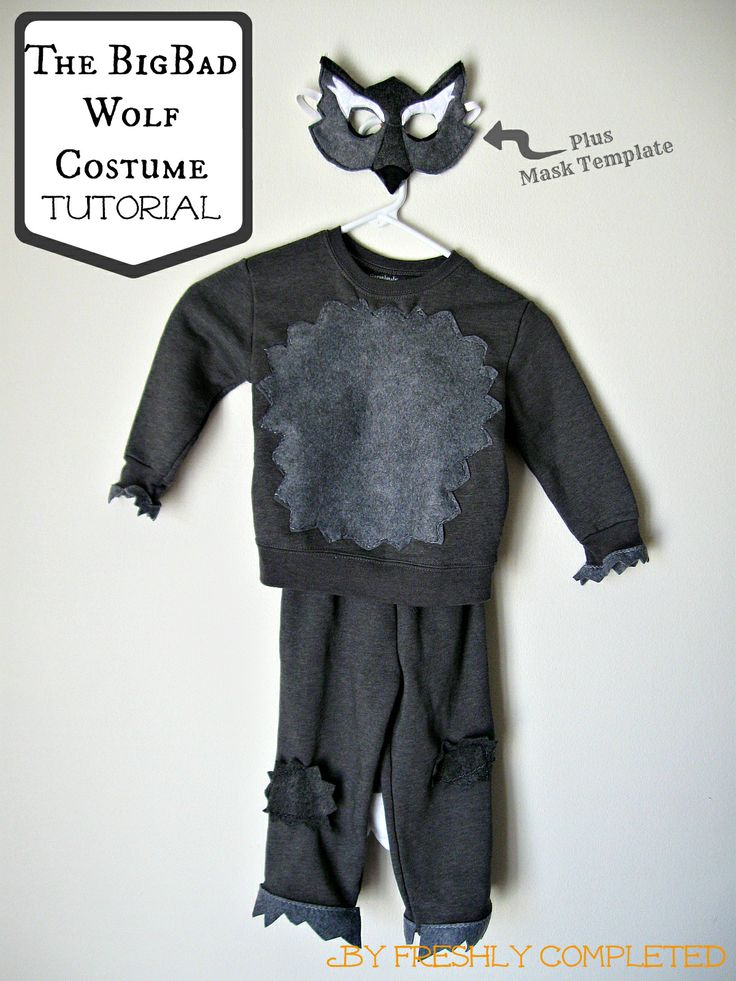 Freshly Completed: The Big Bad Wolf Costume Tutorial