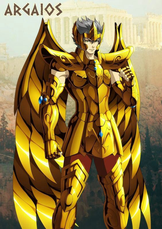 Argaios de sagitário(Gold - Ares Chapter ).