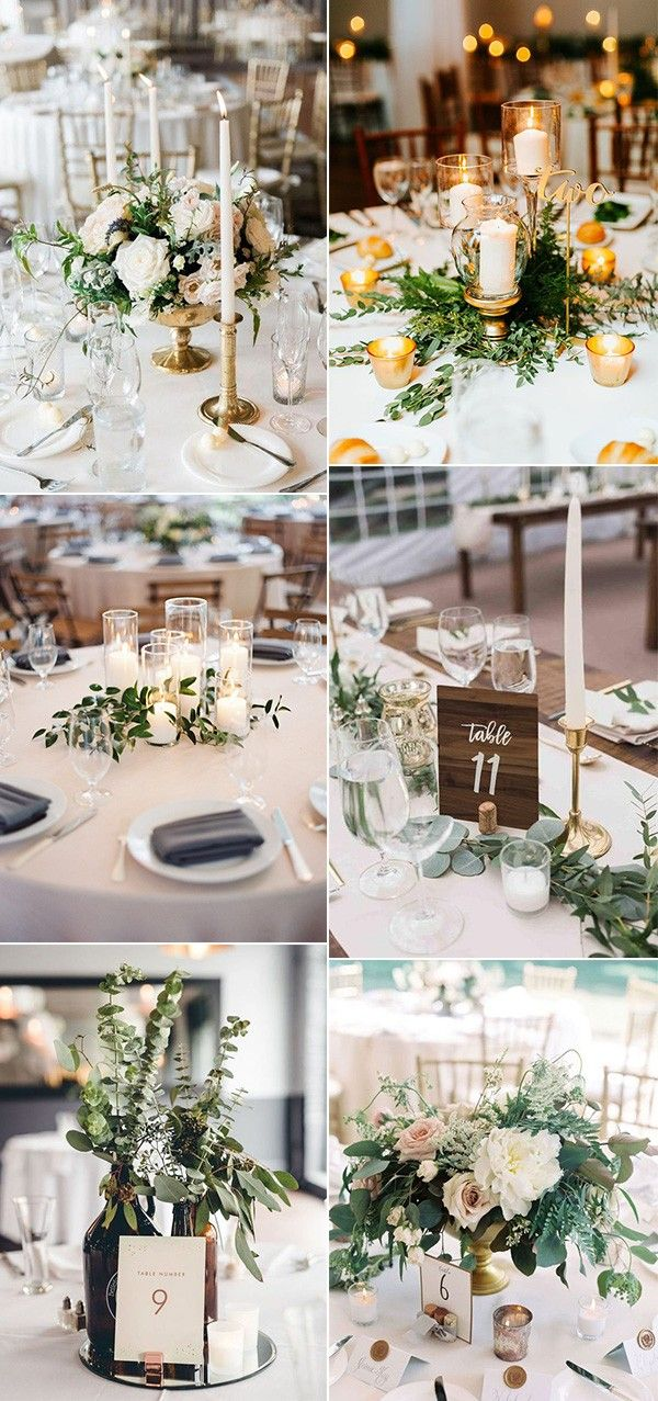 15 Simple But Elegant Wedding Centerpieces For 2019 Trends Emmalovesweddings Cheap Wedding Table Centerpieces Wedding Floral Centerpieces Elegant Wedding Centerpiece