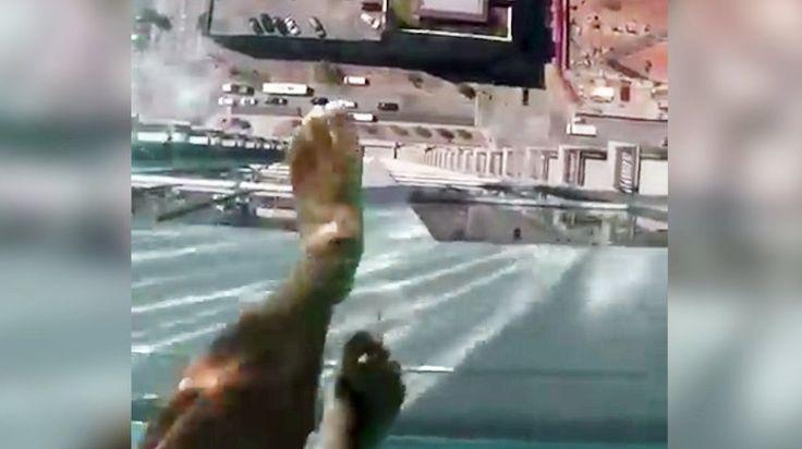 Pool mit Durchsicht: Schritte ins Nichts - SPIEGEL ONLINE - Video