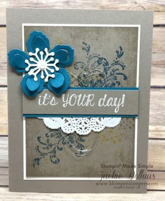 Klompen Stampers (Stampin' Up! Demonstrator Jackie Bolhuis): Simple Collage Background: Part 2
