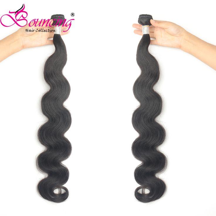 Bouncing Hair Body Wave Bundles Hair Weft Brazilia…