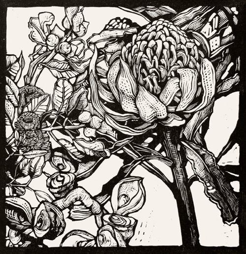 Andrew Crooks - Australian Linocut Artist