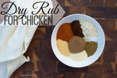 Dry Rub for Grilled Chicken
