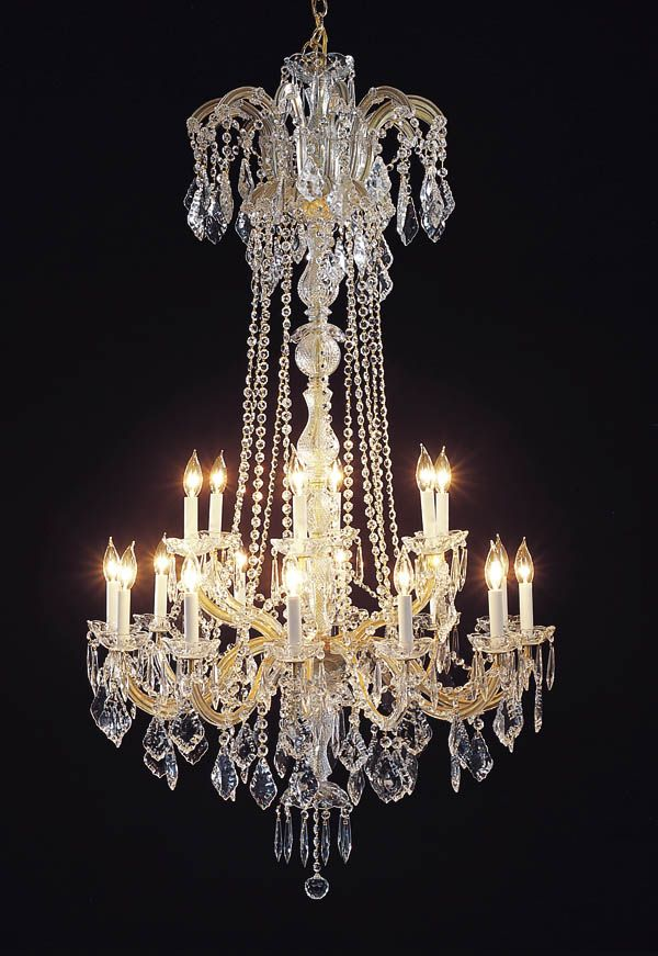 A83-352/18  Maria Theresa CHANDELIER Chandeliers, Crystal Chandelier, Crystal Chandeliers, Lighting