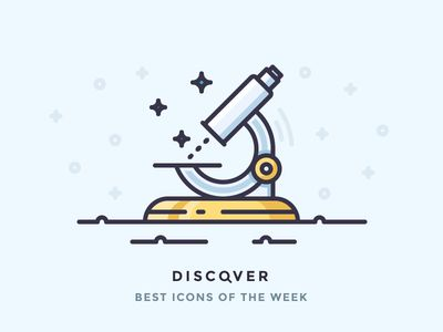 Discover best icons of the week!