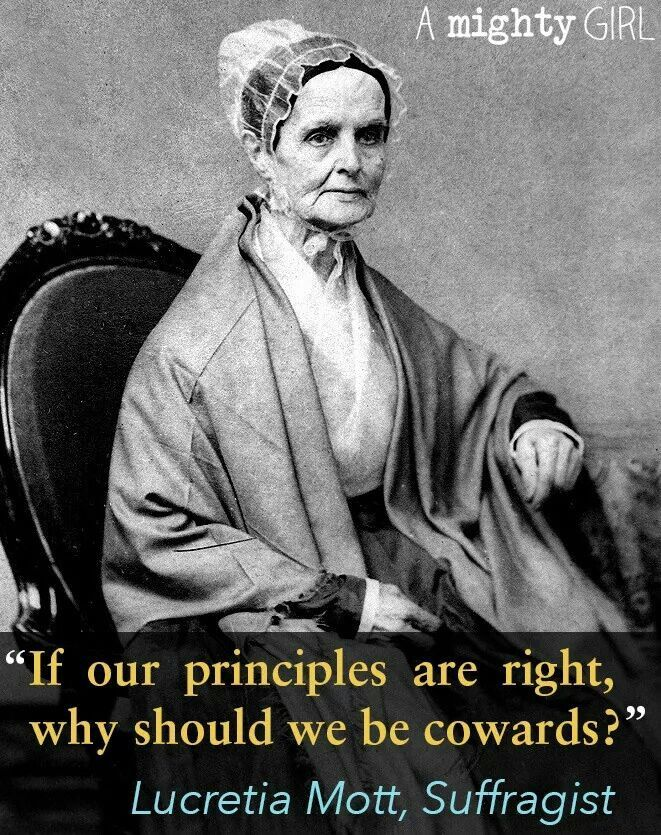 If our principles are right...