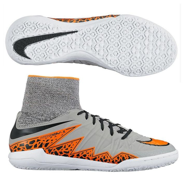 Nike HypervenomX Proximo TF Turf Soccer Shoes (Wolf Grey/Total Orange) | Soccer  shoes, Soccer cleats and Cleats
