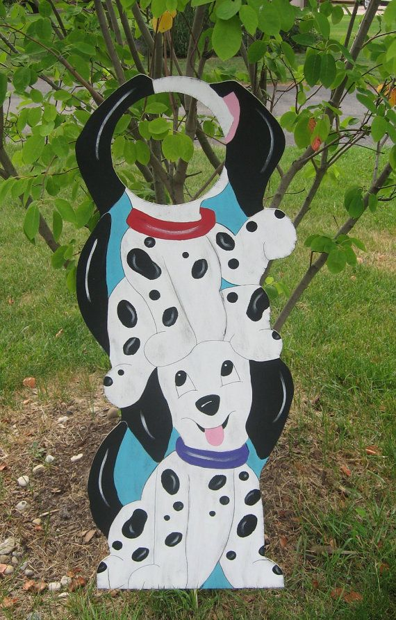 Dalmation Birthday Party Photo Prop Sign - Wood - Keepsake. $89.99, via Etsy.