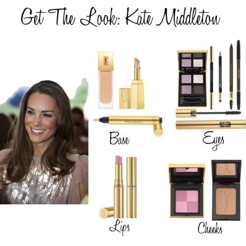Get Kate Middleton's look using YSL! http://blog.topbox.ca/