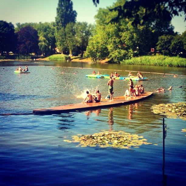 Tuindorp Hengelo , hier leerde ik zwemmen.