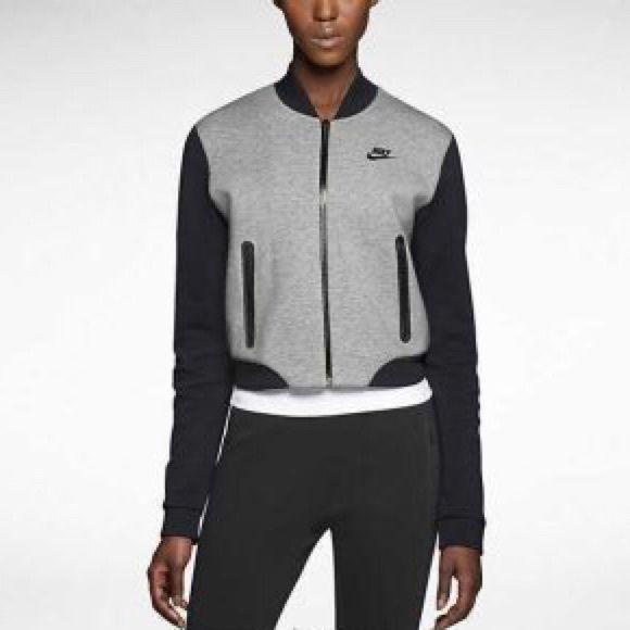 Nike Tech Fleece Bomber Women Nike tech Make me an offer :) Nike Jackets & Coats