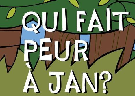 """6 contes interactifs ( cliquez sur """"Qui fait peur à Jan"""" pour avoir accès aux 6)"""