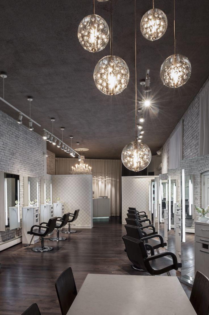 2014 NAHA finalist - Salon Design    HC Studio. Brookline, MA. Photographer: Chelsea Kyle    Paul Mitchell the School Cleveland    [via: http://probeauty.org/nahagallery/year/2014/salondesign/]