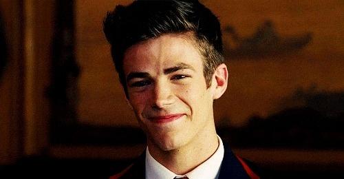 Grant Gustin.  Sebastian Smythe | Glee