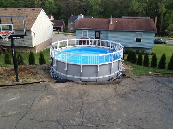Pool Landscaping Intex Pool Landscaping