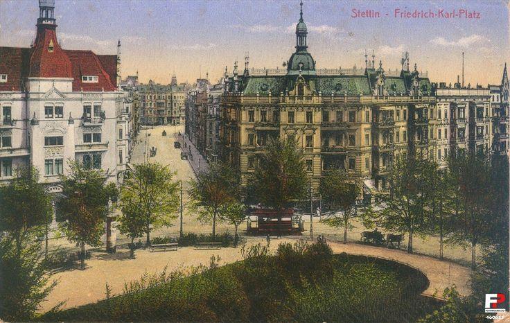 Piłsudskiego 19, Szczecin - 1910 rok, stare zdjęcia