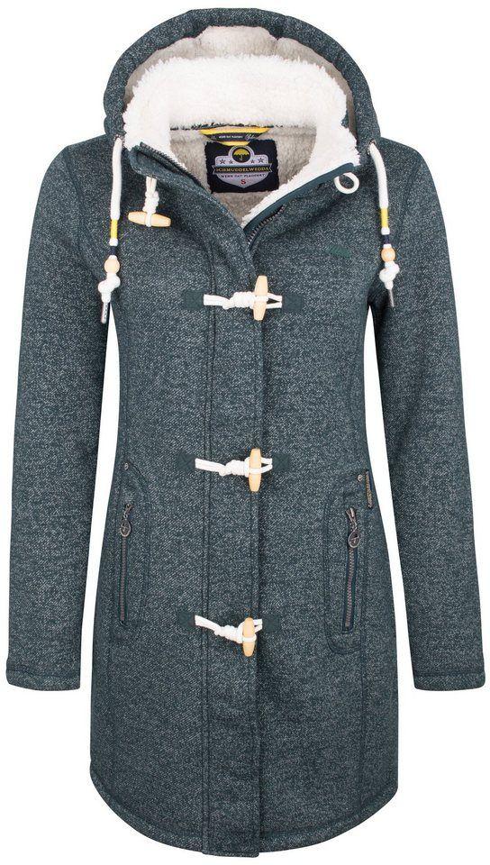 1c8935ec8bd2 Schmuddelwedda Jacke für 129,95€. Wärmender Damen Blouson, Verdeckter  Reißverschluss + Knebelverschlüsse