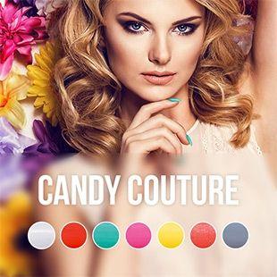 CANDY COUTURE KOLLEKTION  7 neue zuckersüße UV Nagellack Farben   Pink Gellac