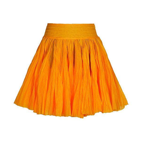 Оранжевая юбка, жат�‹й хлопок, Теплицкая : To-Dress.Ru : Ищешь модную... ❤ liked on Polyvore featuring skirts, bottoms, orange and orange skirt