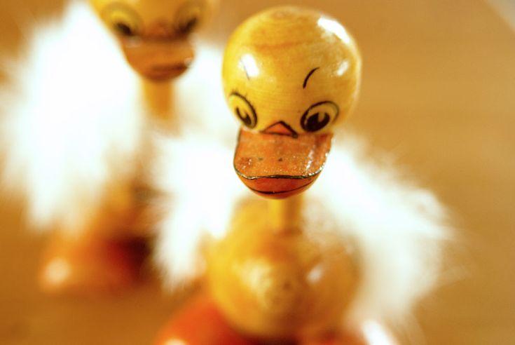Little easter duckling. See more at www.evabyeva.dk