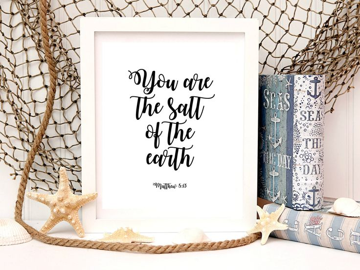 80% OFF SALE! Matthew 5 Bible verse print Bible verse wall art Scripture quotes Scripture printable Christian posters Instant bible quotes by TheRusticInk on Etsy