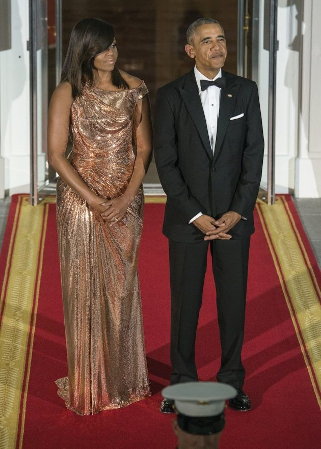 15 Of The Best Dresses Michelle Obama Wore As US First Lady