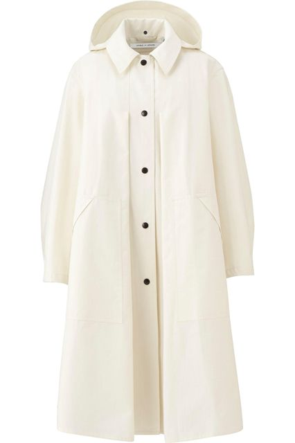 15 Dressy Items That Only Look Expensive #refinery29  http://www.refinery29.com/dressy-winter-holiday-clothes#slide-13  The billowy silhouette and contrasting buttons give this steal of a coat an elegant feel.Uniqlo Lemaire Hooded Coat, $149.90 $99.90, available at Uniqlo....