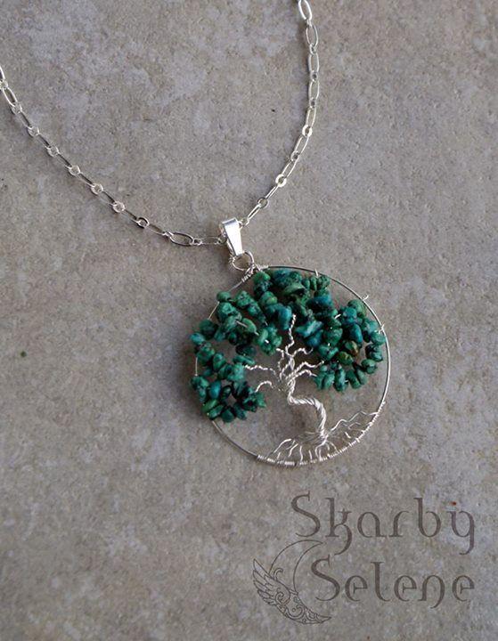 Drzewko szczęścia z turkusu