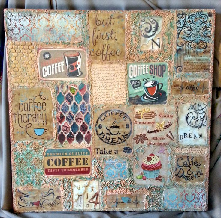 кофейное панно на кухню