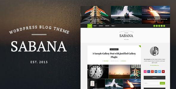 Sabana - Clean & Elegant WordPress Blog Theme