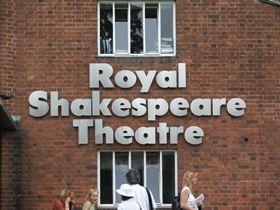 Royal Shakespeare Theater-Stratford, England. My personal dream factory.