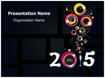 19 best new year powerpoint template images on pinterest edit check out our professionally designed new year abstract ppt template download our new toneelgroepblik Images