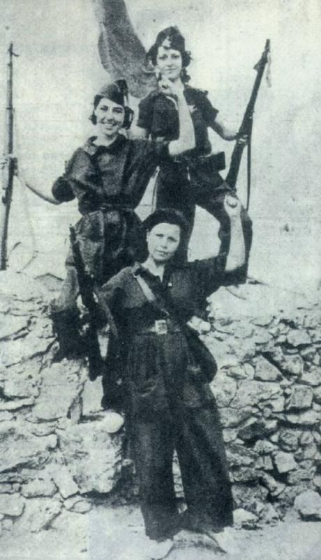 Women in the Spanish revolution - Solidarity