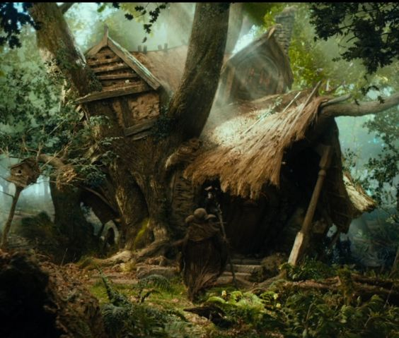 The Hobbit Radagast Magical Woodlands And