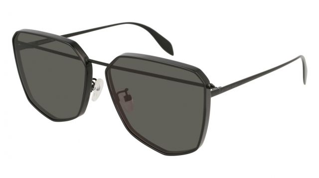 ffd0fc246d Alexander McQueen AM0136S 002 in 2019   Alexander McQueen Sunglasses ...