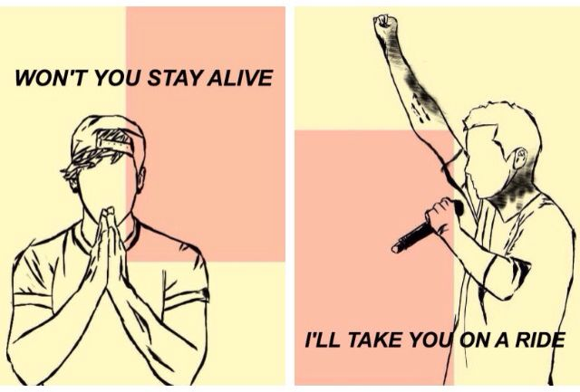 twenty one pilots, lovely