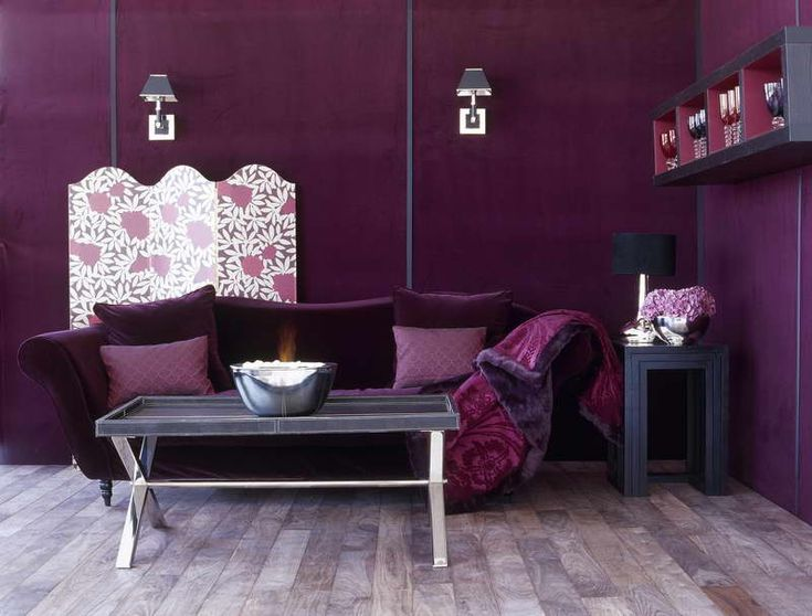 Chambre Violet Orange | How To U0026 Repairs : Diy Artwork For Living Room With  Purple Part 78