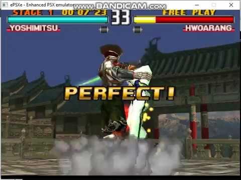 Tekken 3 Yoshimitsu Sword Combo ナムコ