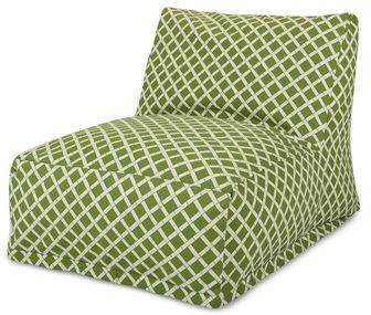 Sage Bamboo Bean Bag Chair Lounger, 85907220304 by Majestic Home Goods | BizChair.com