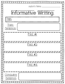 First Grade Writing Unit