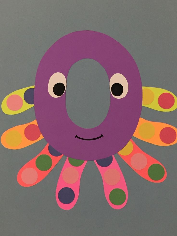 O Is For Octopus  Letter O Crafts, Letter A Crafts