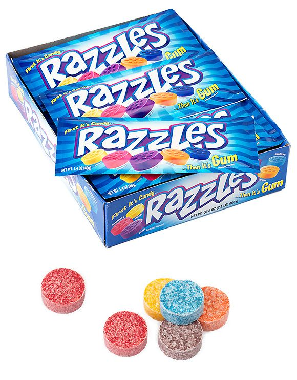 #FBF: '90s Candies That Will Make You Seriously Nostalgic for Halloweens Past - Razzles  - from InStyle.com