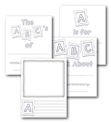 Alphabet Book Template