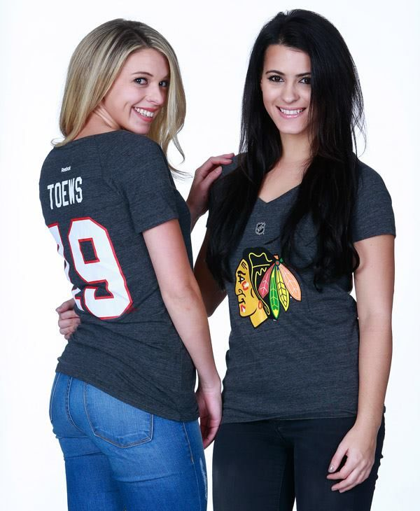 These ladies Reebok player tees are 20% off today only! Stop by the #Blackhawks Store today, Dec. 14 to get your tee!