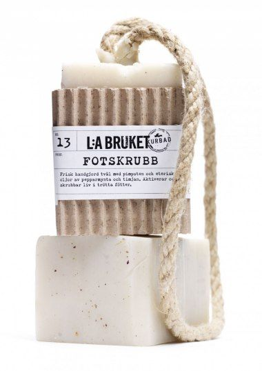 """Beautiful hand-made soaps and functinal spa products. L:a Bruket, from Varberg,"