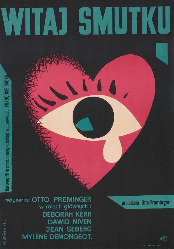 Bonjour Tristesse (1958), Polish Poster